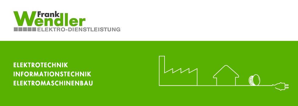 Frank Wendler Elektro-Dienstleistung-Logo